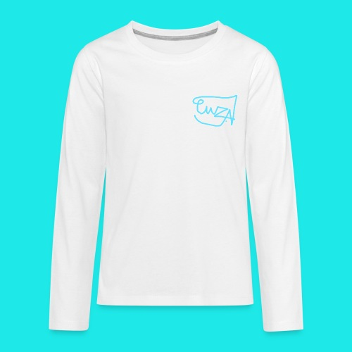 Official Multi colour with blue - Kids' Premium Long Sleeve T-Shirt