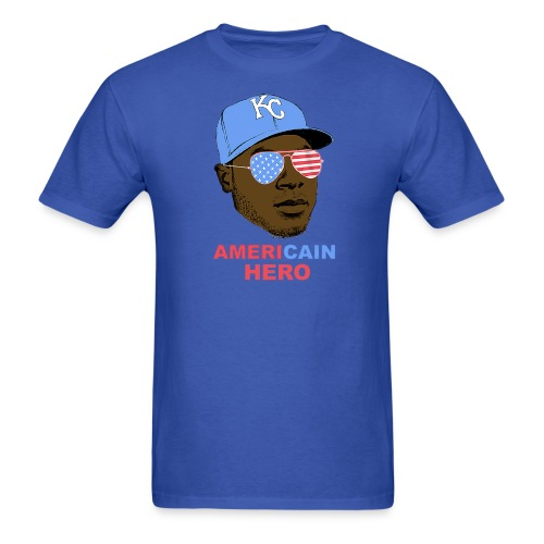 AmeriCAIN Hero Classic Cut T-shirt - Men's T-Shirt