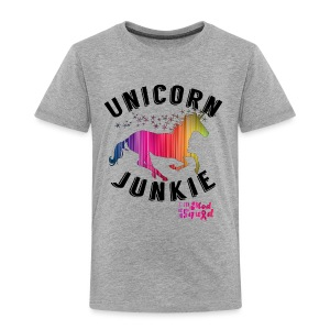 Unicorn Junkie Toddler Shirt - Toddler Premium T-Shirt