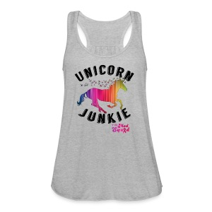 Unicorn Junkie Flowy Tank - Women's Flowy Tank Top by Bella