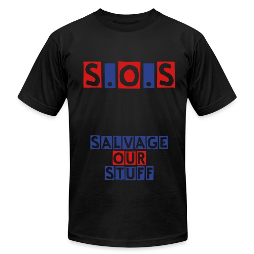 SALVAGE OUR STUFF - Men's  Jersey T-Shirt