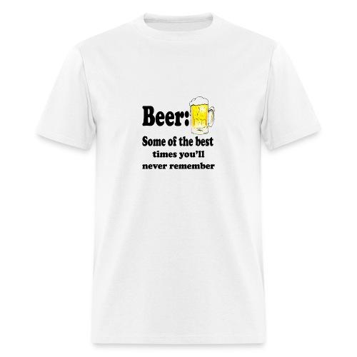 Beer Memory - Men's T-Shirt