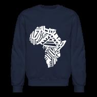 Long Sleeve Shirts ~ Crewneck Sweatshirt ~ African Crewneck Sweatshirt