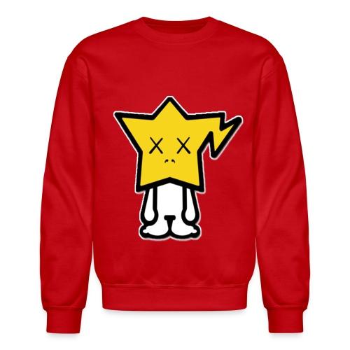 Star HEad Crewneck Sweatshirt - Crewneck Sweatshirt
