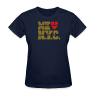 T-Shirts ~ Women's T-Shirt ~ ME GUSTA NUEVA YORK  NEW YORK CITY
