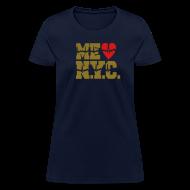 Women's T-Shirts ~ Women's T-Shirt ~ ME GUSTA NUEVA YORK  NEW YORK CITY