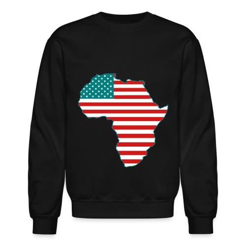 USAfrica Crewneck Sweatshirt - Crewneck Sweatshirt