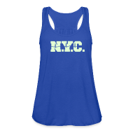 Tanks ~ Women's Flowy Tank Top by Bella ~ NEW YORK CITY