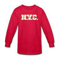 Kids' Shirts ~ Kids' Long Sleeve T-Shirt ~ NEW YORK CITY