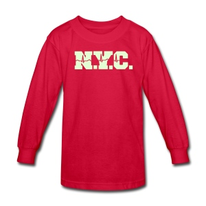 NEW YORK CITY - Kids' Long Sleeve T-Shirt