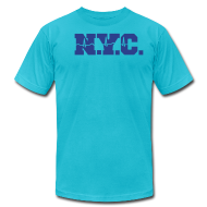 T-Shirts ~ Men's T-Shirt by American Apparel ~ NEW YORK CITY