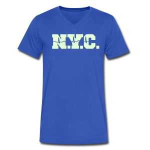 NEW YORK CITY - Men's V-Neck T-Shirt by Canvas