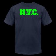 T-Shirts ~ Men's T-Shirt by American Apparel ~ NEW YORK CITY