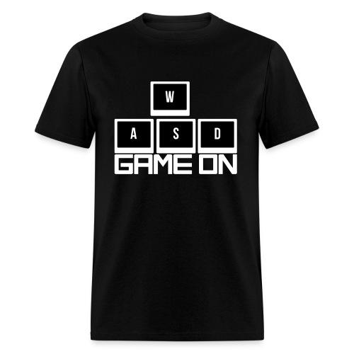 WASD - Game On - Men's T-Shirt