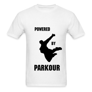 POWERED BY PAKOUR MEN'S T-SHIRT  - Men's T-Shirt