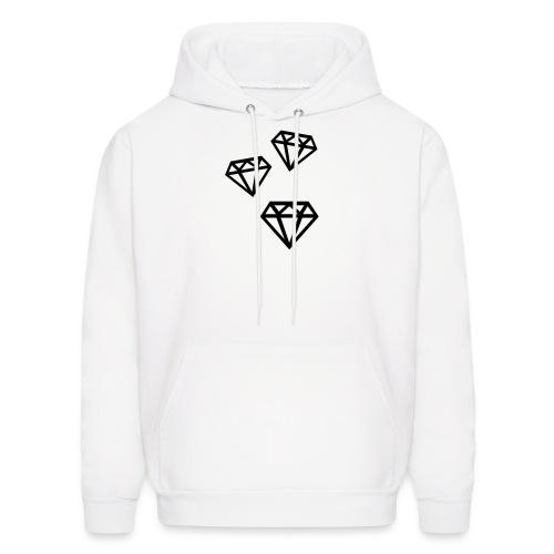 Men's Diamond Hoodie - Men's Hoodie