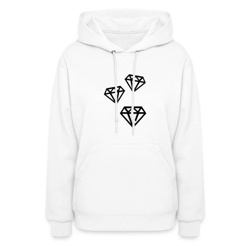 Women's Diamond Hoodie - Women's Hoodie