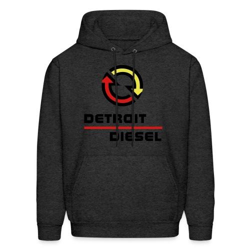 Detroit Diesel - disturbing the peace since 1938 - Black Lettering - Men's Hoodie