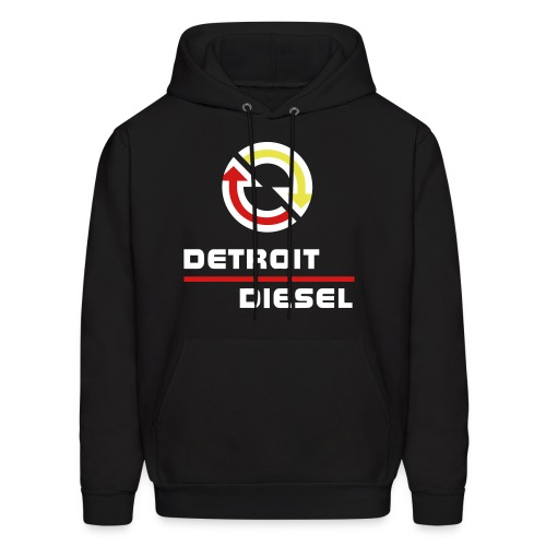 Detroit Diesel - disturbing the peace since 1938 - White Lettering - Men's Hoodie