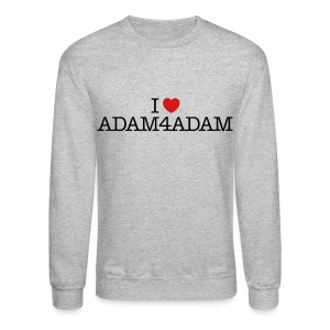 Sweatshirt - I LOVE ADAM4ADAM - Crewneck Sweatshirt