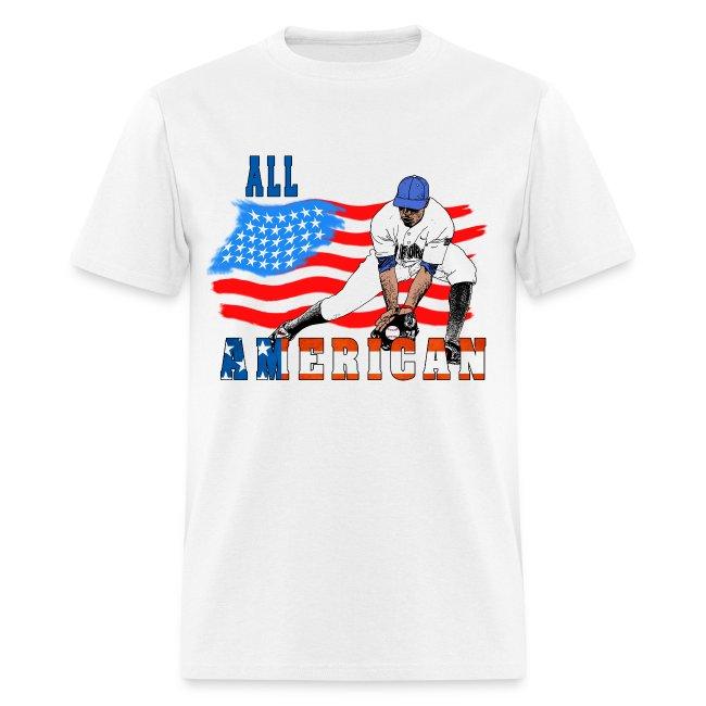All American Baseball Player