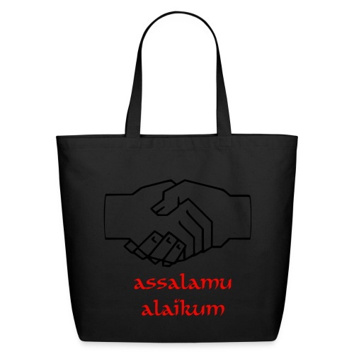Greetings to my Muslim friends - Eco-Friendly Cotton Tote