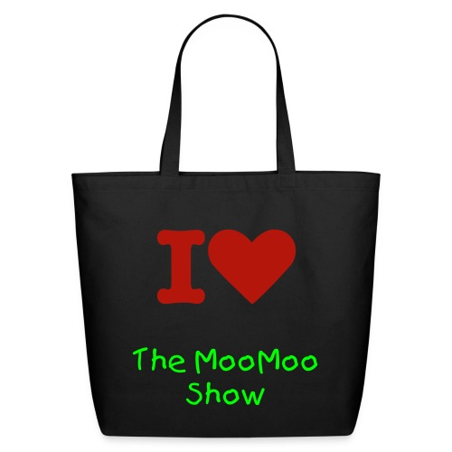 I Love the MooMoo Show Eco-Friendly Tote Bag - Eco-Friendly Cotton Tote