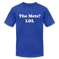 T-Shirts ~ Men's T-Shirt by American Apparel ~ The Mets?