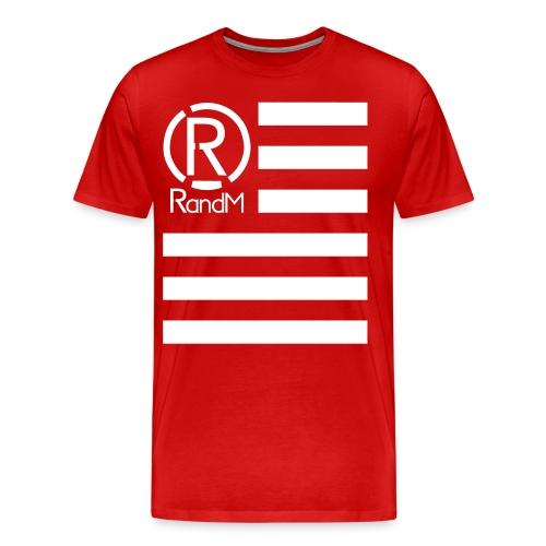(R) Flag - Men's Premium T-Shirt