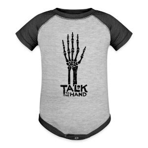 Talk to the Hand - Baby Contrast One Piece
