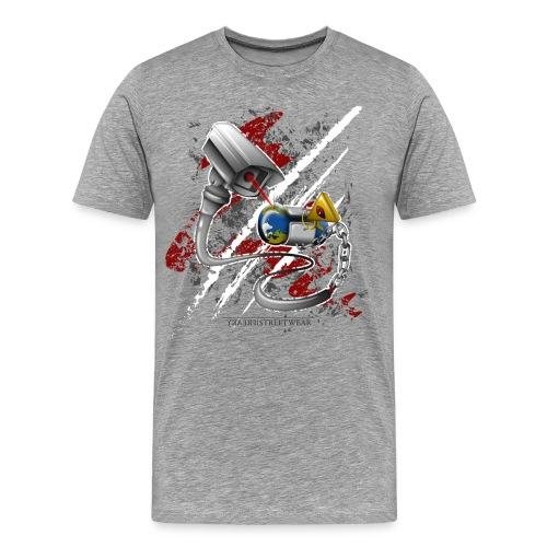 where's my free world? - Men's Premium T-Shirt