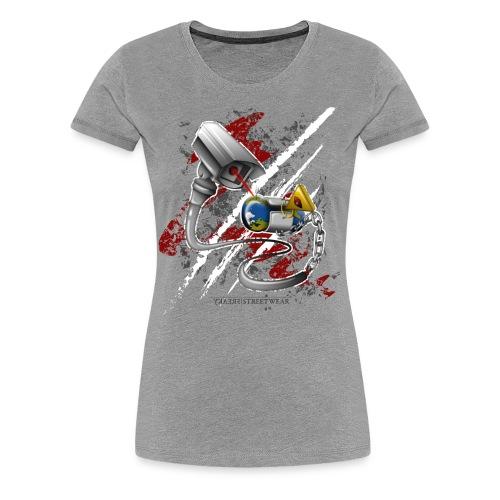 where's my free world? - Women's Premium T-Shirt