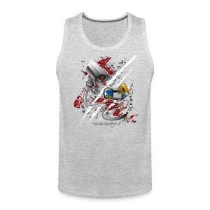 where's my free world? - Men's Premium Tank