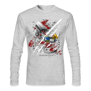 where's my free world? - Men's Long Sleeve T-Shirt by Next Level
