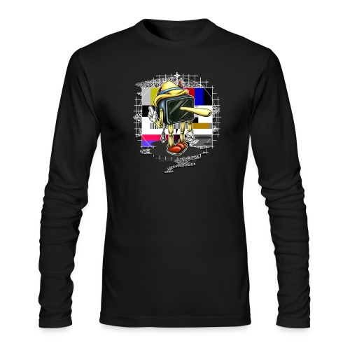 Piglotzio extended - Men's Long Sleeve T-Shirt by Next Level