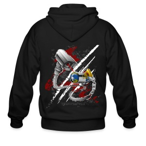 where's my free world? - Men's Zip Hoodie