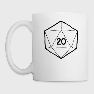 How I Roll D&D Tshirt - Coffee/Tea Mug