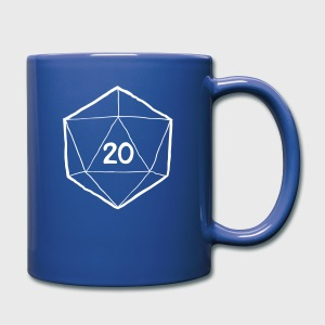 How I Roll D&D Tshirt - Full Color Mug