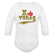 Baby Bodysuits ~ Baby Long Sleeve One Piece ~ ICH LIEBE VEGAS