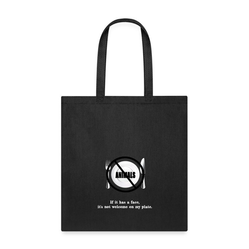 No faces on my plate - Tote Bag