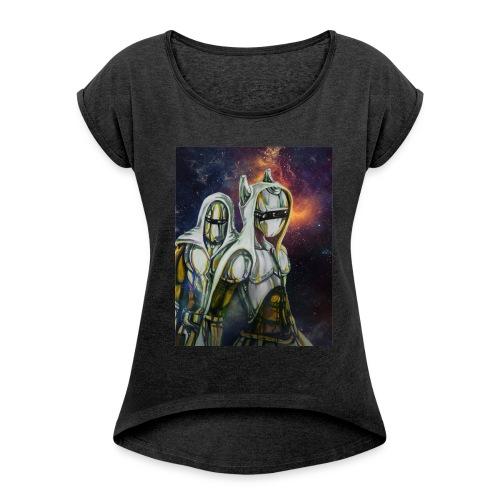 GunnSwitch Official Shirt - Women's Roll Cuff T-Shirt