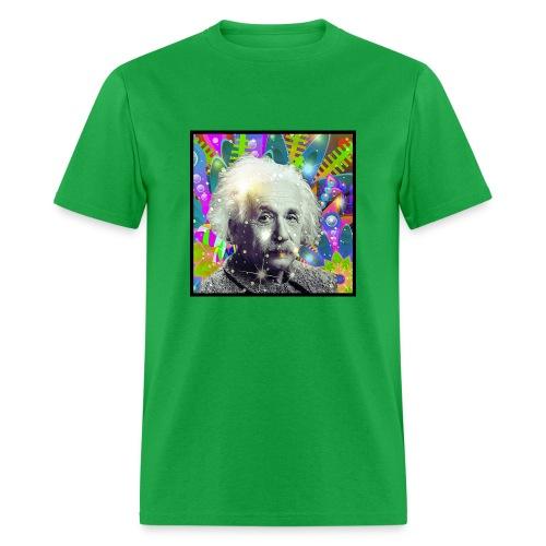Fuck Politics ~ Einstein - Men's T-Shirt