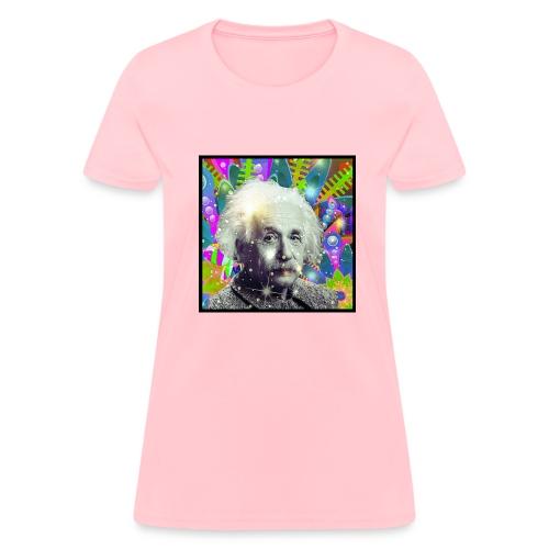 Fuck Politics ~ Einstein - Women's T-Shirt