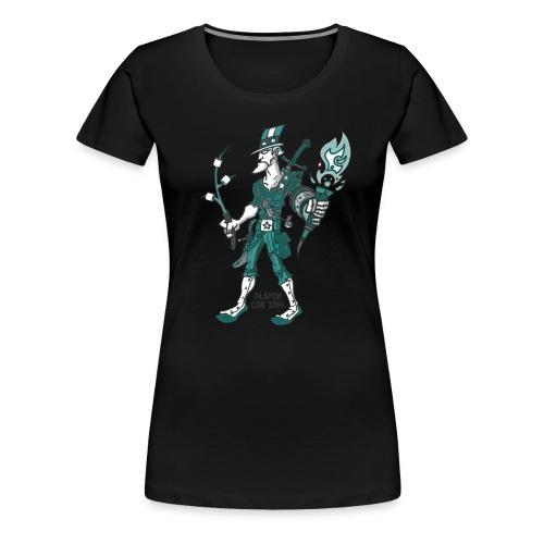 Women's POC 7: Hunter Sam - Women's Premium T-Shirt