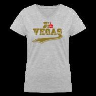 Women's T-Shirts ~ Women's V-Neck T-Shirt ~ j'aime Las Vegas