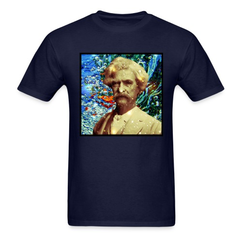 SHIT ~ MARK TWAIN - Men's T-Shirt
