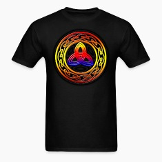 Multicolored Trinity Knot T-Shirts