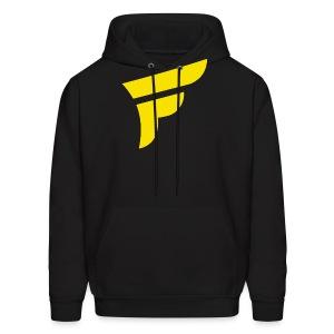 Fly Logo Yellow - Men's Hoodie