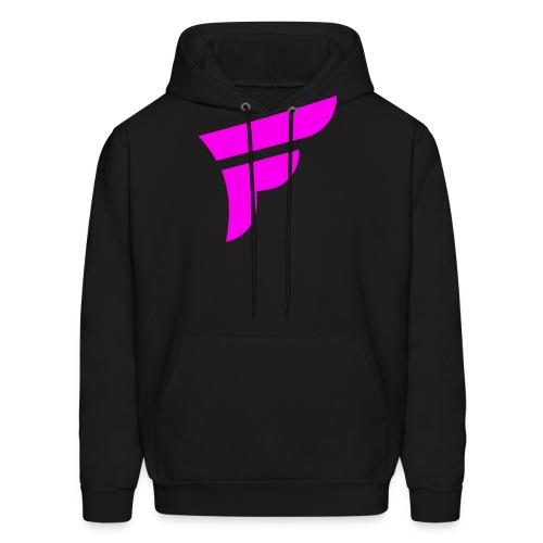 Fly Logo Pink - Men's Hoodie