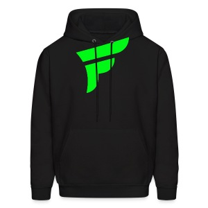 Fly Logo Green - Men's Hoodie